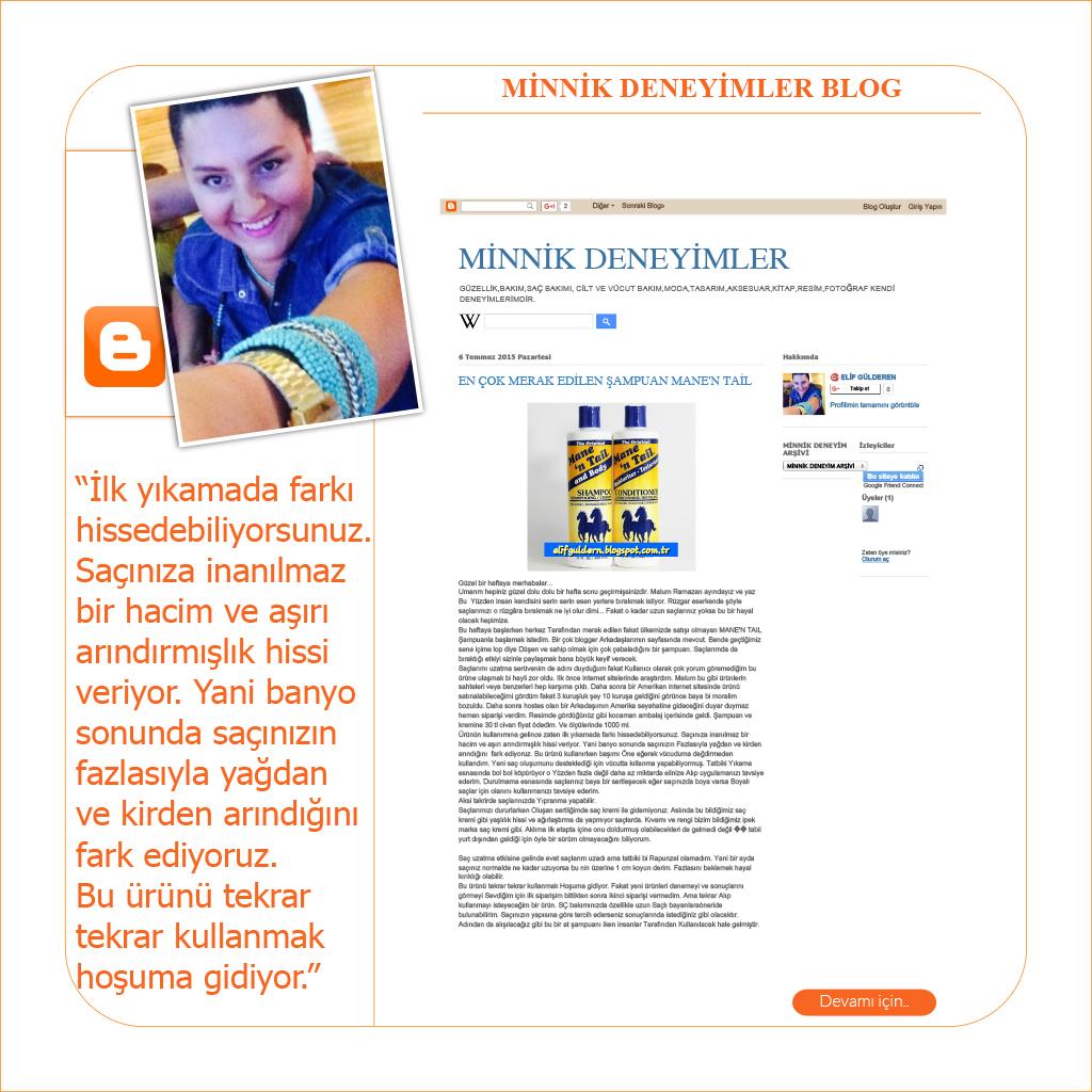 Minnik Deneyimler Blog